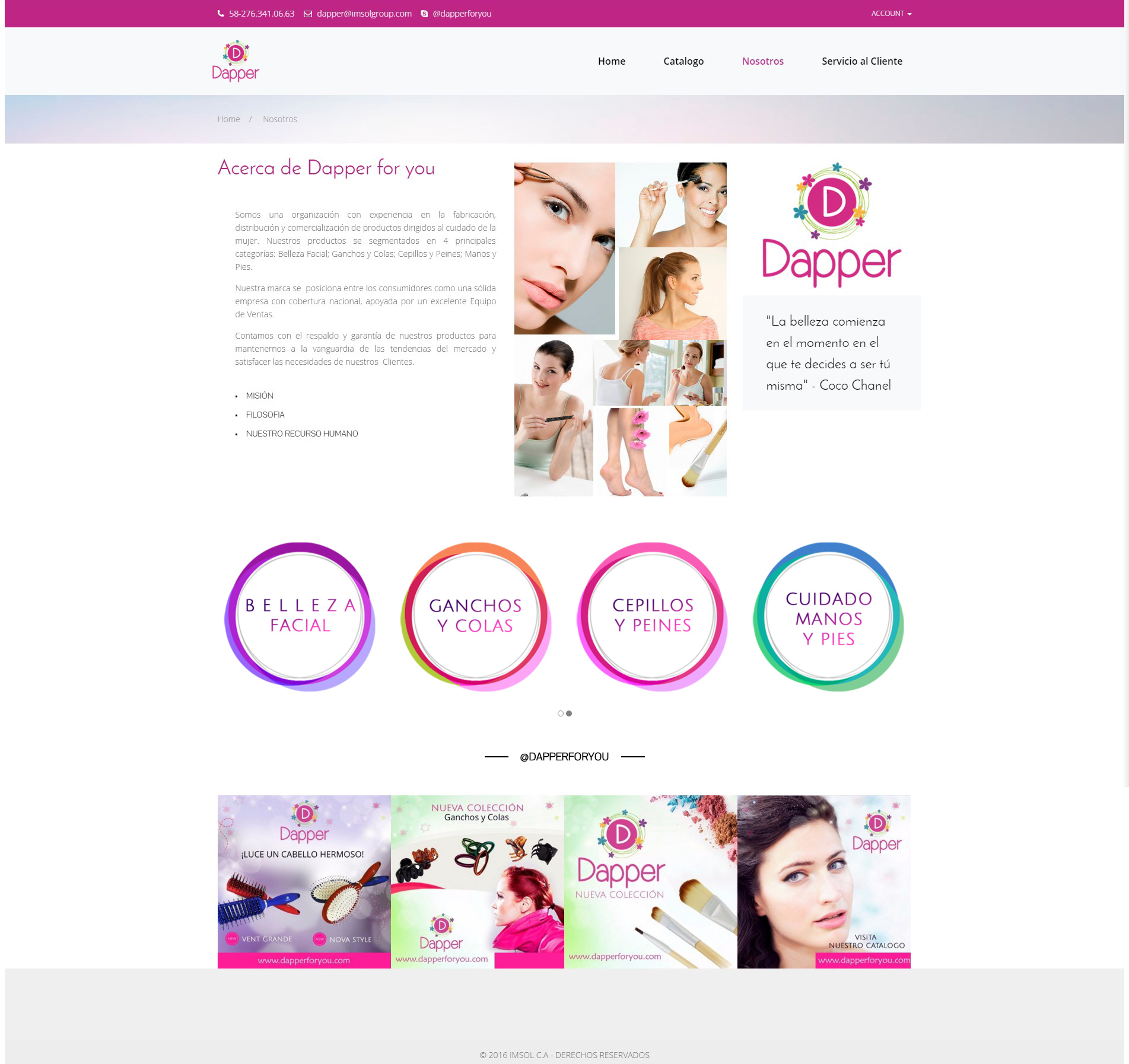 Website Dapper for you