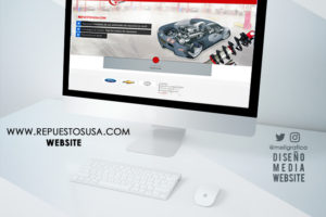 Website Repuestos USA