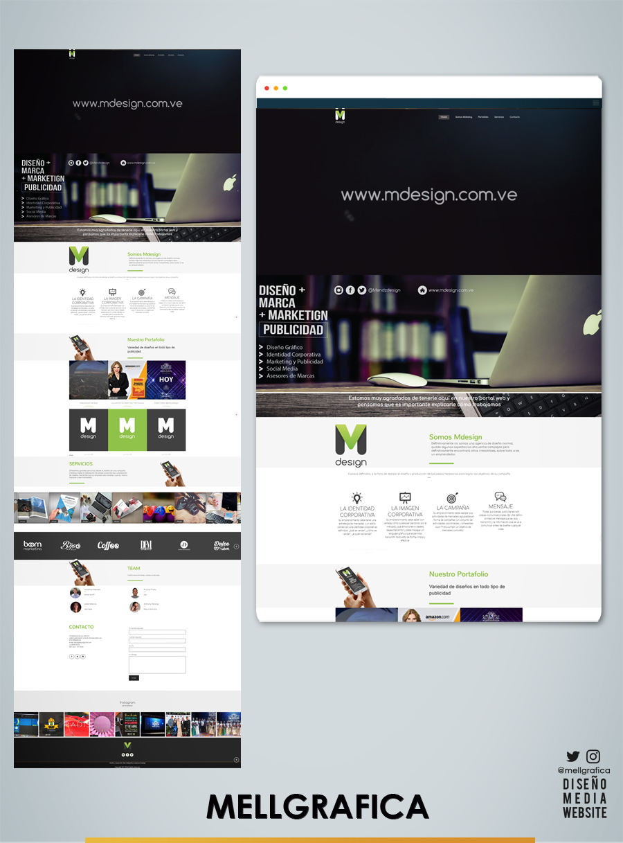 Website Mdesign