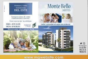 Diseño publicidad Monte Bello