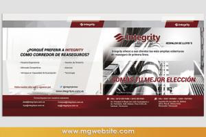 Diseño Publicidad Revista Integrity