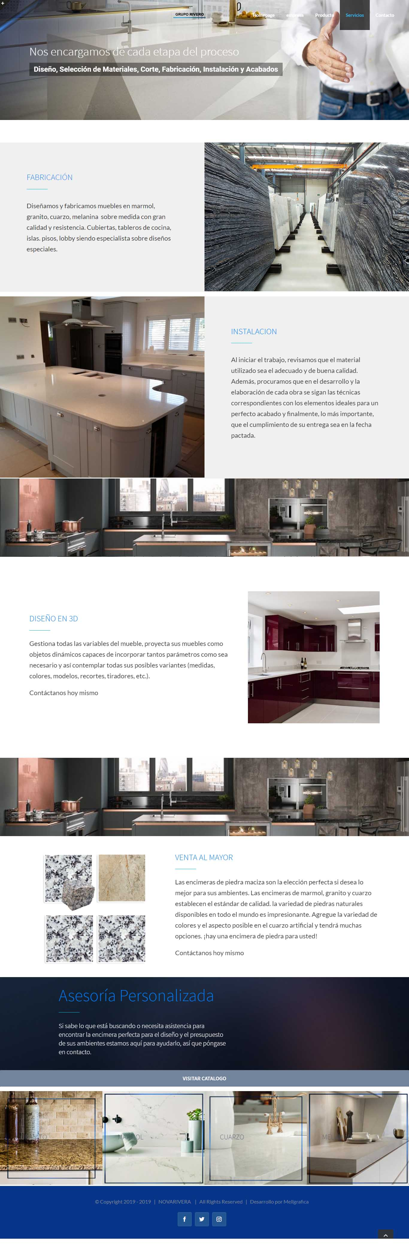 Website nova rivera