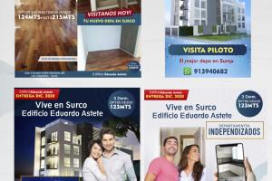 Constructora IM Inmobiliaria Diseño publicitario